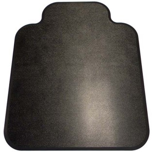 Black Diamond Chair Mats